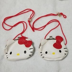 2 Hello kitty coinpurse